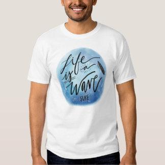 Tee-shirt White Man BASIC Surfing Shirt