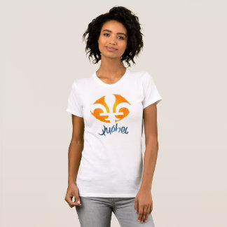 Tee-shirt with the flower off lily, the symbol off T-Shirt