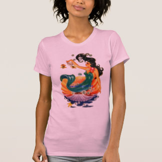 TEE SHIRT WOMAN'S MEDIUM VINTAGE MERMAID