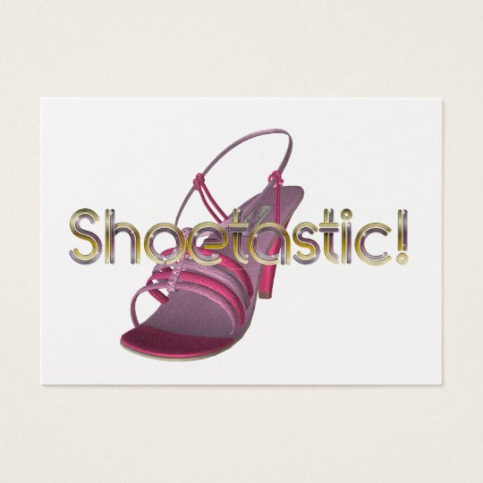 TEE Shoetastic Business Card