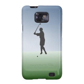 Tee Shot Female Golfer Galaxy SII Cover