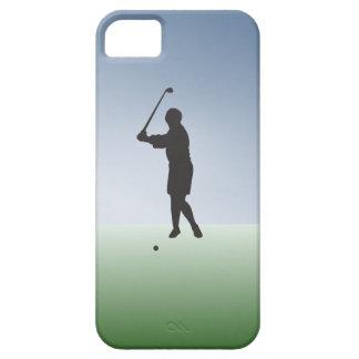 Tee Shot Female Golfer iPhone 5 Cover