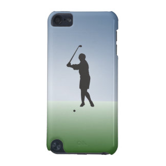 Tee Shot Female Golfer iPod Touch (5th Generation) Cases