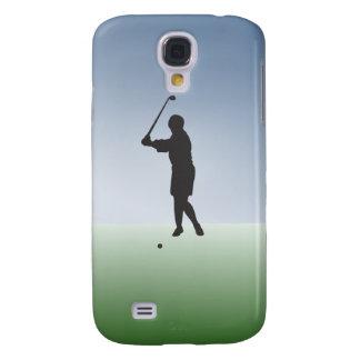 Tee Shot Female Golfer Galaxy S4 Case