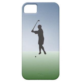 Tee Shot Female Golfer iPhone 5 Case
