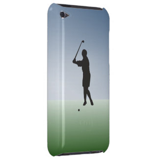 Tee Shot Female Golfer Barely There iPod Covers