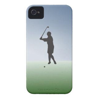Tee Shot Female Golfer Case-Mate iPhone 4 Case