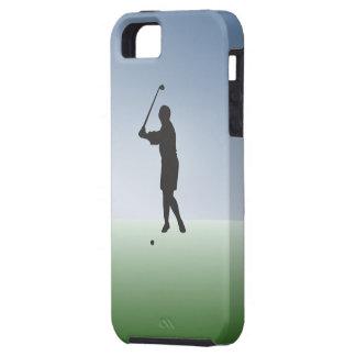 Tee Shot Female Golfer iPhone 5 Cases