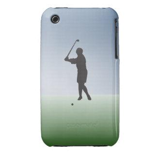 Tee Shot Female Golfer iPhone 3 Cover