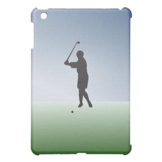 Tee Shot Female Golfer iPad Mini Covers