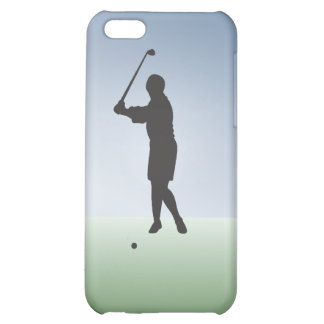 Tee Shot Female Golfer iPhone 5C Cases