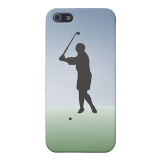 Tee Shot Female Golfer iPhone 5/5S Cover