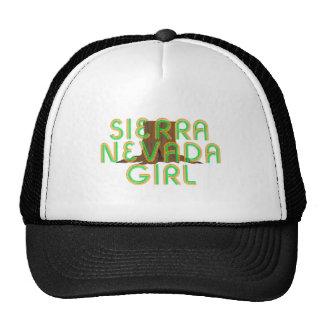 TEE Sierra Nevada Girl Mesh Hat