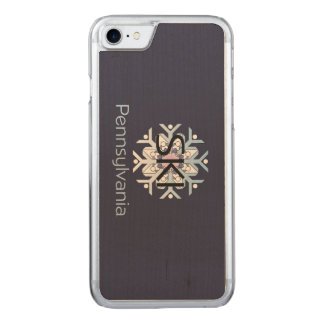 TEE Ski Pennsylvania Carved iPhone 8/7 Case