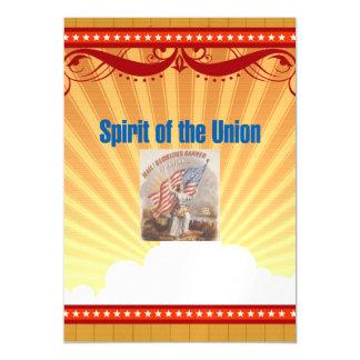 TEE Spirit of the Union Magnetic Invitations