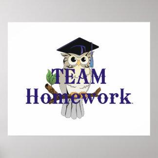 TEE Team Homework Posters