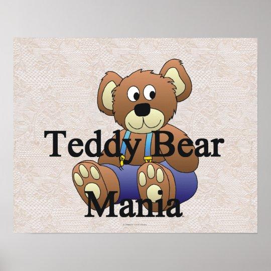 TEE Teddy Bear Mania Poster