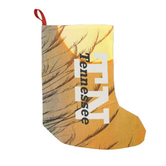 TEE Tennessee Small Christmas Stocking