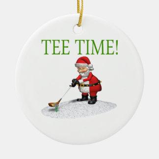 Tee Time Christmas Ornament