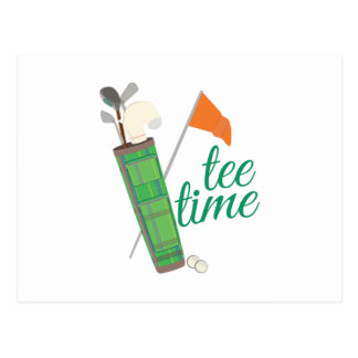 Tee Time Postcard