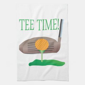 Tee Time Tea Towel