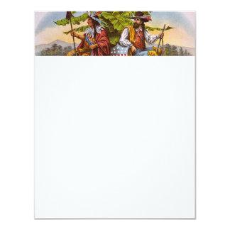 TEE True Americans 4.25x5.5 Paper Invitation Card