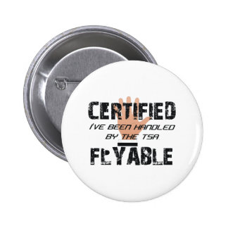 TEE TSA Slogan 6 Cm Round Badge