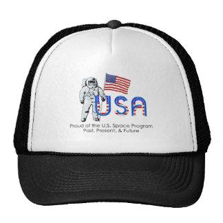 TEE U.S. Space Program Cap