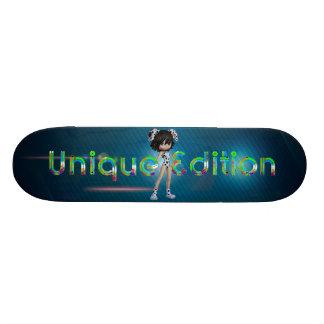 TEE Unique Edition 21.3 Cm Mini Skateboard Deck