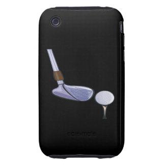 Tee Up Tough iPhone 3 Case