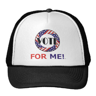 TEE Vote For Me Mesh Hats