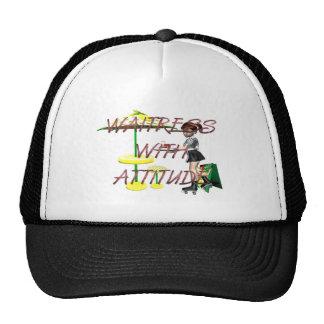 TEE Waitress with Attitude Cap