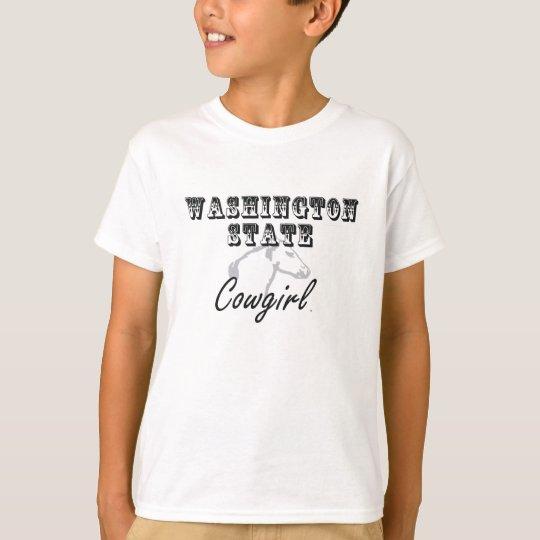 TEE Washington Cowgirl