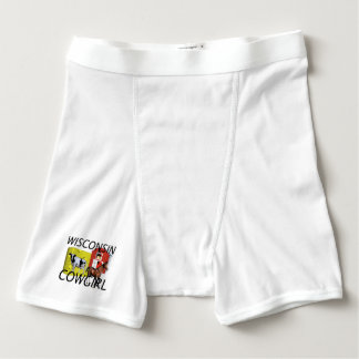 TEE Wisconsin Cowgirl Boxer Briefs