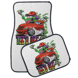 Teed Off! Car Mats for the car crazy golfer.