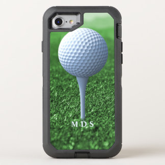 Teeing Off Golfer's OtterBox OtterBox Defender iPhone 8/7 Case