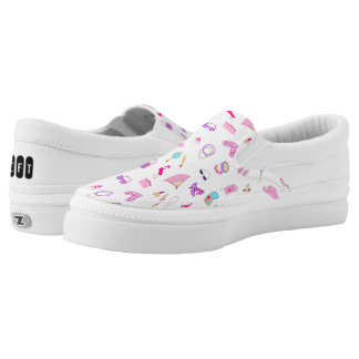 Teen accessories-Repeated Printed Shoes