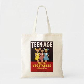 """""""Teen-Age Western Vegetables"""" Bag"""