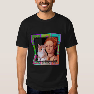 Teen-aged Elizabeth I and Her Kitten T-shirt