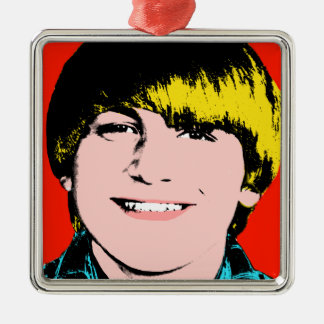 Teen Boy Custom Pop Art Keepsake Ornament
