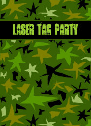 Camouflage birthday cards invitations zazzle teen boys birthday camo stars party card bookmarktalkfo Image collections