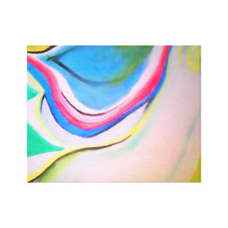 Teen Stretched Canvas Print