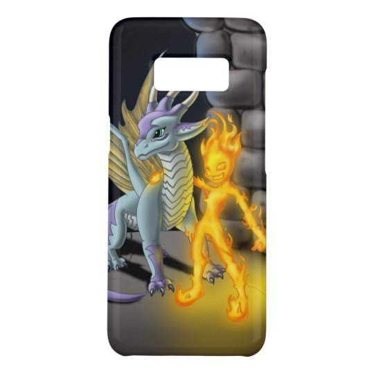 """Teen Element: Fuego"" Samsung Galaxy S8 Case"