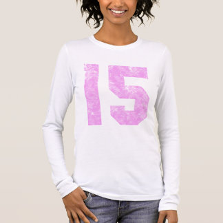 Teen Girl 15th Birthday Gifts Long Sleeve T-Shirt