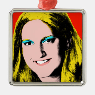 Teen Girl Custom Pop Art Keepsake Ornament