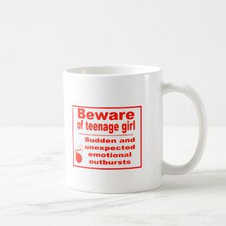 teen girl mug