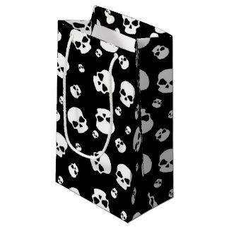 Teen kids unisex skull party bag