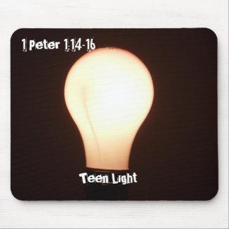 Teen Light Bulb Mousepad