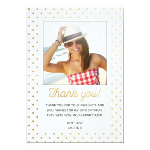 Teen Thank You Card Adult