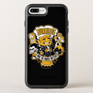 "Teen Titans Go! | Beast Boy ""Burritos Are Better"" OtterBox Symmetry iPhone 8 Plus/7 Plus Case"